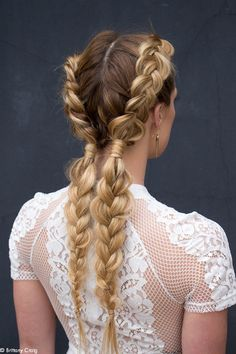 braids hairstyle diy