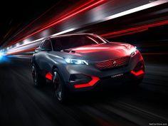 Peugeot Quartz Concept Front View