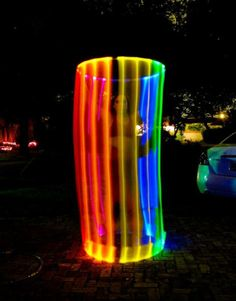 This is a lighted Rainbow hooper....only read a little about this but it is mezmerizing and fascinating to watch!