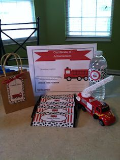 Cupcake Wishes & Birthday Dreams: {Sweet Customers} Max's Fire Truck Party