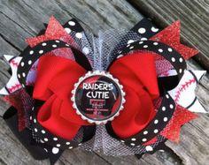 Raider Cutie Hair Bow!
