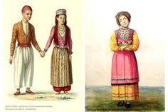 Татары. Рисунок с натуры В. Ситникова