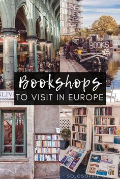 The Best of Breathtakingly Beautiful Bookstores in Europe. Are you a bibliophile? Always looking for the best bookshops in order to buy novels and books? Here's your complete guide! europe The Best of Breathtakingly Beautiful Bookstores in Europe Backpacking Europe, Europe Travel Guide, Europe Destinations, Travel Guides, Instagram Inspiration, Travel Inspiration, Places To Travel, Places To Go, Literary Travel