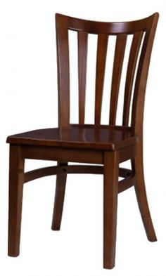 Premium Jane Vertical Slat Side Chair - Made in the USA