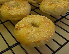 Make and share this Sourdough Bagels recipe from Food.com.