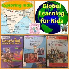 DVDs about India.  These are not focused only on the Mauryan Empire but provide broader information about India. Geared toward elementary age students.