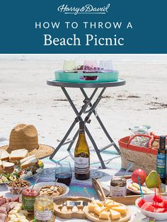 Brighten up your next beach picnic with these recipes for caprese salad kebabs and seafood salad sandwiches. Grab a bottle of Harry & David wine and you're ready for a day at the beach. Harry And David, Muffin Bread, Seafood Salad, Lettuce Leaves, Easy Entertaining, Salad Sandwich, Beach Picnic, Kebabs, How To Cook Shrimp