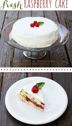 Raspberry Cake – Not JUST A Housewife