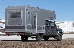 Bimobil Husky Land Rover Defender 235 2L cabin 12/2013 as a camper pickup in Berlin