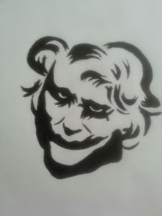 The Joker done with Micron pen