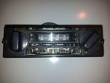 BECKER MEXICO Vintage Radio player for Mercedes w123 w126 r107 w116 Porsche BMW