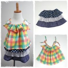 キッズ用キャミソールとフリルスカート。キャミソールはダブルガーゼで肌触りも◎ Camisole and frilled skirt for kids. Confortable surface of dual gauze fabric of camisole. #camisole #frillskirt #forkids #sewing #handmade #JAGUAR