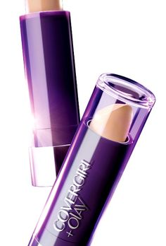 Covergirl + Olay Concealer Balm. So far am meh on this one - it brightens, but settles in eye creases