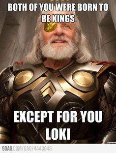 Poor Loki...