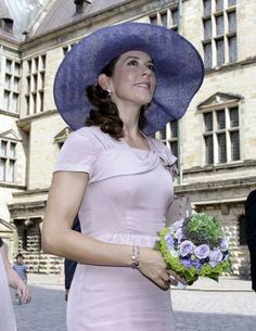 la future héritière Mary de Danemark