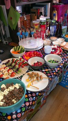 Avengers birthday party food