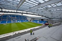 Twitter / BHASnappy: ‪#EXTRASEATS‬ Another pic from the highest steps of the East Stand upper tier. Snappys getting used to heights! ‪#BHAFC‬