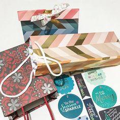 3 gift bags done, 4 more to go!  I even made a wine gift bag #ECholiday #ECGiftWrapBook #ECfanfriday #EClove #ECaddict #plannercommunity #plannerlove #EClifeplanner #planwithme #planner #erincondren #plannergirl #plannergoodies #diy #creative #artandcrafts #christmasbag #christmaswrap #christmaswrapping #winebag