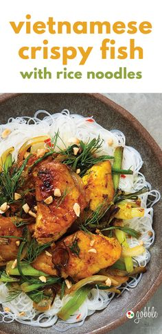 Gobble | Vietnamese Crispy Fish With Rice Noodles | Dinner in 15 Minutes | Dinner For Two | Quick and Easy Recipes | New Recipes To Try | Cook At Home | Food Delivery Services | Healthy Meals Made With Fresh Ingredients | What To Have For Dinner | Dinner Recipes And Ideas | Easy Dinner Recipes | Gourmet Meals | $50 OFF