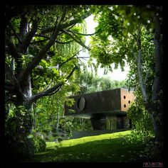 Rendering: Rem Koolhaas Bordeaux House by Dimitar Rashkov