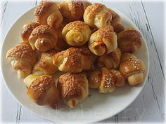 Sörkifli recept Hungarian Recipes, Pretzel Bites, Scones, Cake Recipes, Bakery, Muffin, Sweets, Vegetables, Cooking