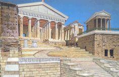 Πυθαγόρειο Νηπιαγωγείο: ΠΑΡΟΥΣΙΟΛΟΓΙΟ ΤΑΞΗΣ: επίσκεψη στην Ακρόπολη Interior Architecture, Interior Design, Ancient Greece, Mansions, Country, House Styles, Pictures, Image, Home Decor