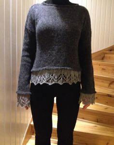 Mönster till Petras korta stickade tröja! Kappa, Knitting Yarn, Sweaters For Women, Knit Sweaters, Knit Crochet, Pullover, Blouse, Pretty, Pattern