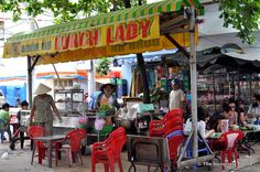 HCMC - The Lunch Lady!  23 Hoang Sa, District 1, HCMC!!