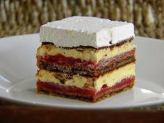 Kapri torta • Reci Peci Pastry Recipes, Baking Recipes, Cake Recipes, Cookie Desserts, Fun Desserts, Torte Recipe, Kolaci I Torte, Torte Cake, Croatian Recipes