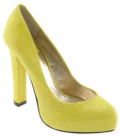 hot! heart me some acid green shoes :)