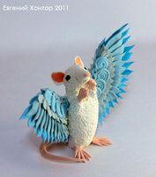 Little angel rat by hontor
