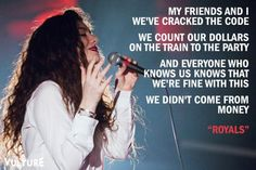 #lorde #lordequote #celebrity #music #pop