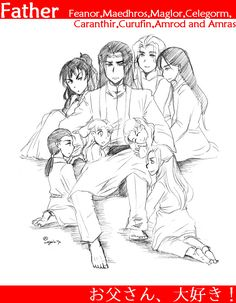 Feanor and his sons