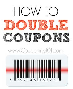 How to double coupons, which coupons will double, and everything else you need to know about doubling coupons.