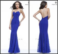 Royal Blue Elegant Chiffon with Sweetheart and Lace Insets On Godet Buttom Straps Optional Evening Gowns 2014 DY-366 $126.99