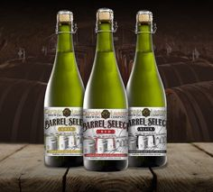 Captain Lawrence Brewing – Barrel Select American Sours – Brand ID & Custom Illustration © 2015