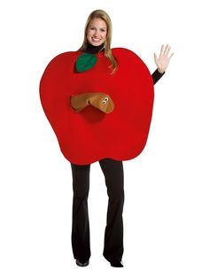 Rasta Imposta Apple, Red, One Size Costumes Faciles, Purim Costumes, Clever Costumes, Food Costumes, Carnival Costumes, Adult Costumes, Halloween Costumes, Letterland Costumes, Vegetable Costumes