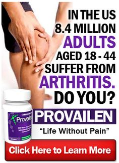 Click Here: http://ArthritisPainRelief.beautyhealth4menwomen.com/Provailen.php      Your arthritis is caused by your autoimmune system attacking your joints and causing inflammation. Provailen uses Reishi mushroom as part of its 3-in-1 formula to rebalance your immune system and relieve your inflammation. Provailen is completely natural and helps to relieve most arthritis symptoms fast and effectively. http://ArthritisPainRelief.beautyhealth4menwomen.com/Provailen.php