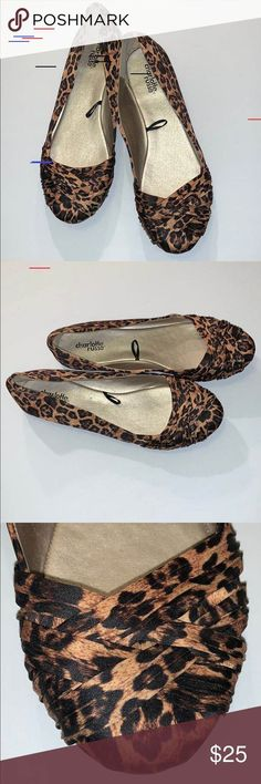 Shop Women's Charlotte Russe size 9 Flats & Loafers at a discounted price at Poshmark. Description: Charlotte Russe Leopard print shoes Sold by sunsetpm. Loafer Flats, Loafers, Leopard Print Shoes, Charlotte Russe Shoes, Plus Fashion, Fashion Tips, Fashion Trends, Birkenstock, Sandals