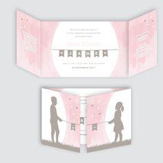 Geboortekaartje Jade, ontworpen door Ontwerp Studio Rottier