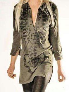 Skeleton Tunic