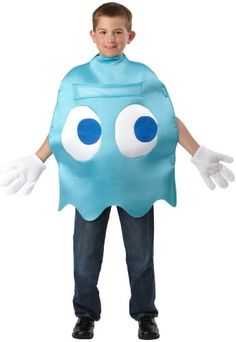 Does not include undershirt, gloves, pants or shoes. This is an officially licensed Pac-Man costume. Cartoon Costumes, Boy Costumes, Halloween Costumes, Costume Ideas, Pac Man Costume, Bodysuit, Children, Boys, Pants