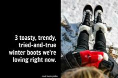 3 of the best stylish, waterproof winter boots for women this year | Cool Mom Picks