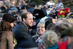 Kate Middleton - The Royal Family Attend Church On Christmas Day