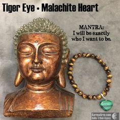 Malachite is a stone of balance, abundance, manifestation and intention…