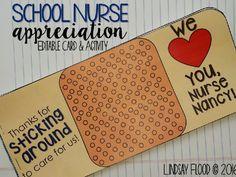 Happy School Nurse Day! nurse hat cards school nurse appreciation ...