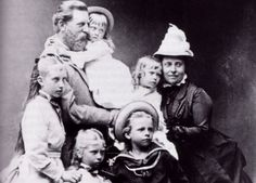 Emperor Friedrich III of Prussia and family