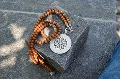 Halskette Sandelholz Bracelets, Silver, Men, Jewelry, Fashion, Scarf Head, Accessories, Handmade Necklaces, Silver Jewellery