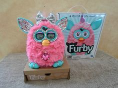 Get your sweetie a real live Furby for Valentine's Day! Customized Furby with over 200 Swarovski crystals. Contact me at chrisandharry2009@ymail.com for more info.