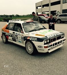 Lancia Delta HF Integrale Hatchback Cars, Lancia Delta, Rally Car, Cars And Motorcycles, Monsters, Classic Cars, Monster Trucks, Wheels, Model